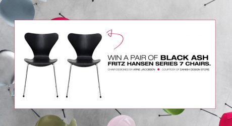 Win a Pair of Fritz Hansen Series 7 Chairs from Danish Design Store