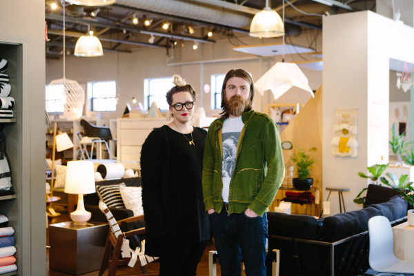 Rebekah Cook and Mike Smith