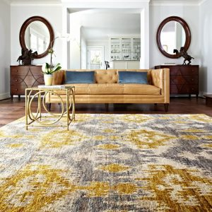 Add Color on Your 5th Wall with Loloi Rugs