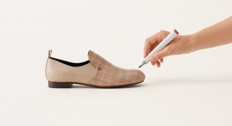Permanent Markers Meet Plain, Leather Shoes