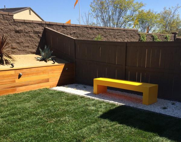 Heller bench from Allmodern