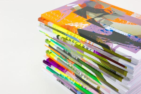 Element 002 screenprinted covers