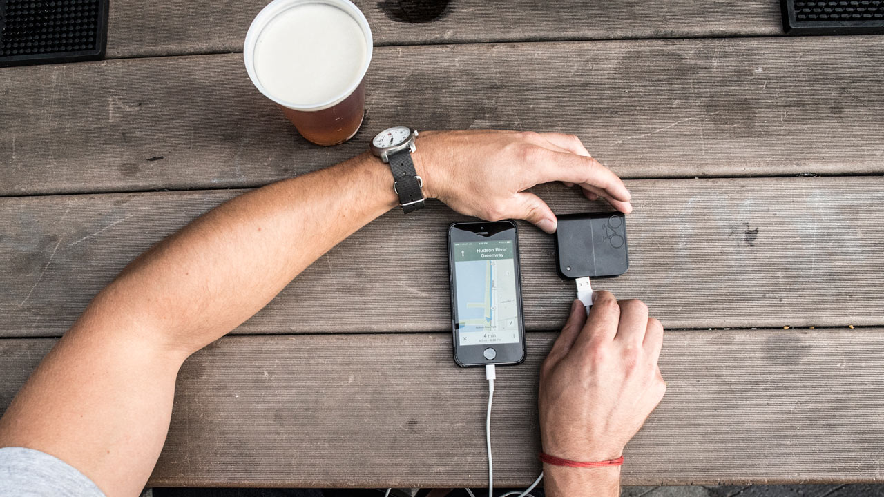 A Battery Pack That's Powered by Your Bike
