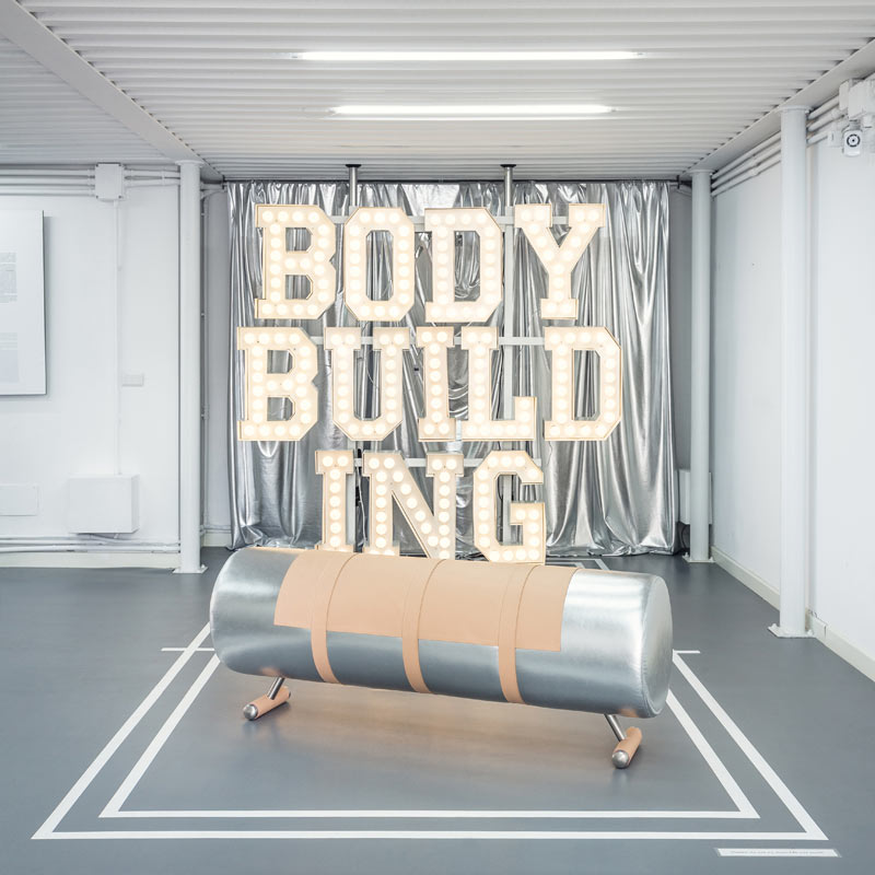 Body Building: Exercise Equipment Re-Imagined into Furniture