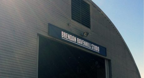 Brendan Ravenhill Studio Visit