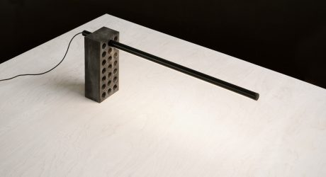 Brick Lamp by Philippe Malouin for Umbra Shift