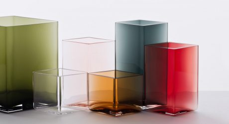 The Making of Iittala's Hand Blown Ruutu Vases