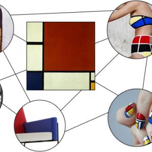 Design Crossover: Piet Mondrian