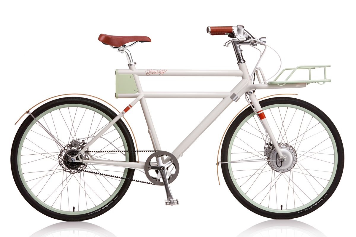 A Modern Electric Bike with a Retro Look