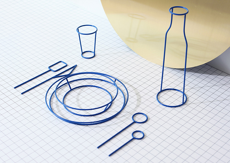 A Family of Tableware Stripped of its Functions