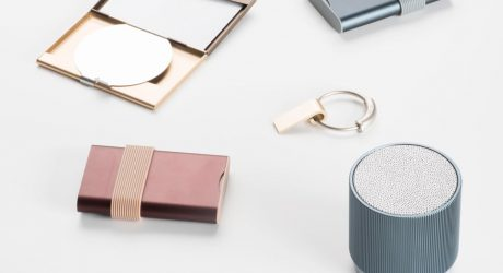 A Collection of Mobile Devices by Pauline Deltour for Lexon