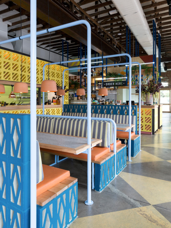 A mexican restaurant adds another colorfully delightful