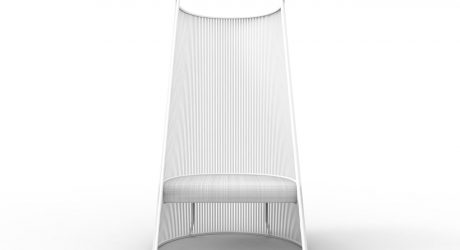 Outdoor Seating Collection Inspired by the Outer Shell of Corn