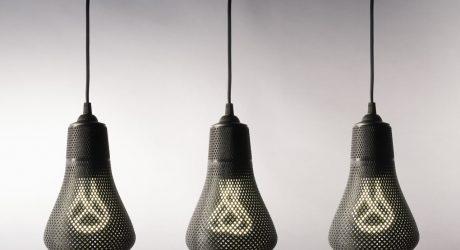 3D Printed Lamp Shades for Plumen Bulbs