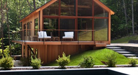Catskills Residence Crafted From Locally-Sourced, Sustainable Materials