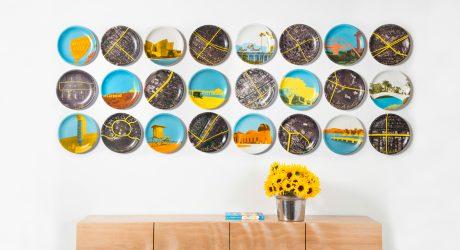 Limited Edition Neighborhood Plates Designed for LA Eatery Lemonade