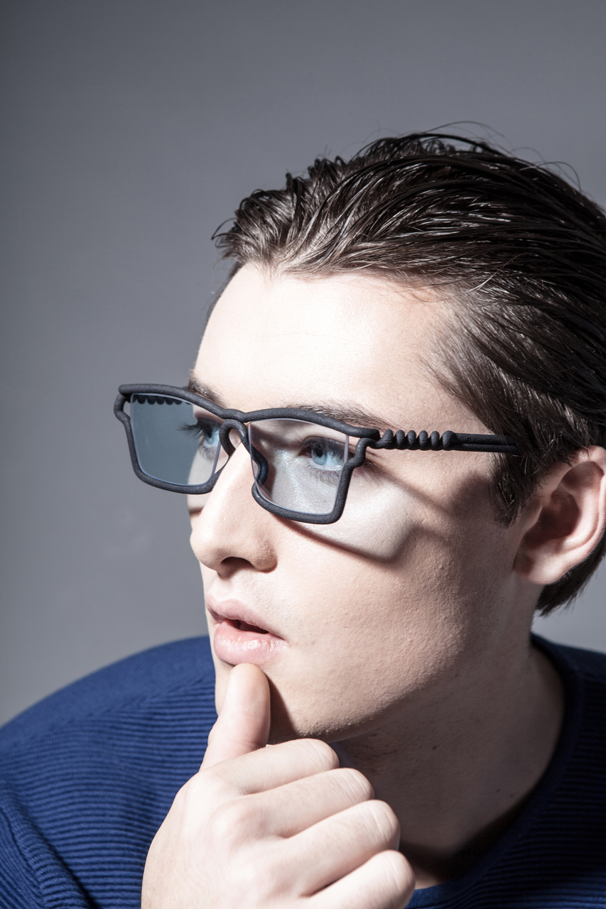 Mono Glasses 3d Printed To Fit Your Face Design Milk