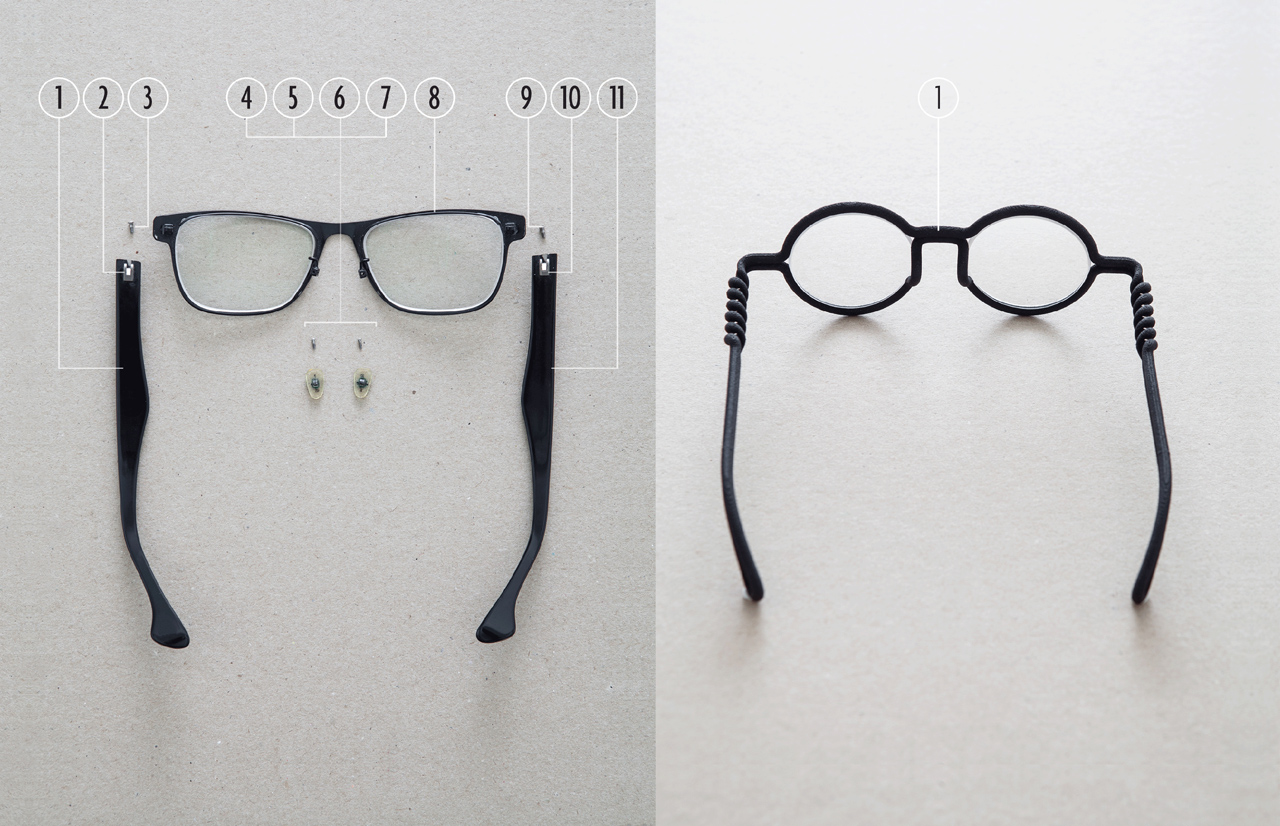 Eyeglasses Frames Fit Your Face : MONO-Eyewear-3D-Printed-to-fit-Your-Face-17 - Design Milk