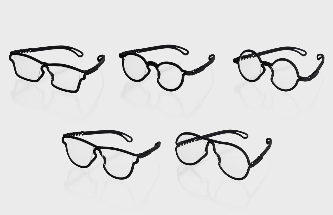 Eyeglasses Frames Fit Your Face : MONO-Eyewear-3D-Printed-to-fit-Your-Face-8 - Design Milk