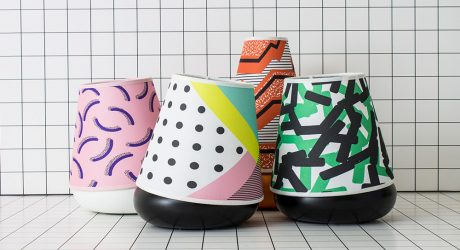 The Macarons: Lamps Inspired by the Memphis Movement