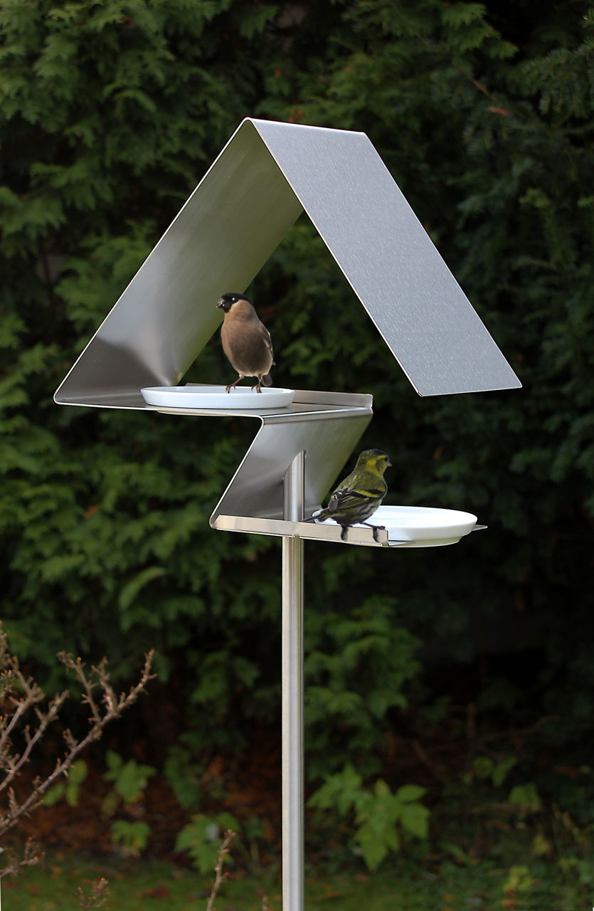 Birdhouses And Bird Baths From Opossum Design Design Milk