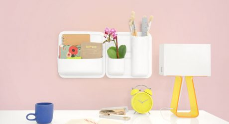 Modern, Modular + Magnetic: Wall System Perch Joins the Urbio Family