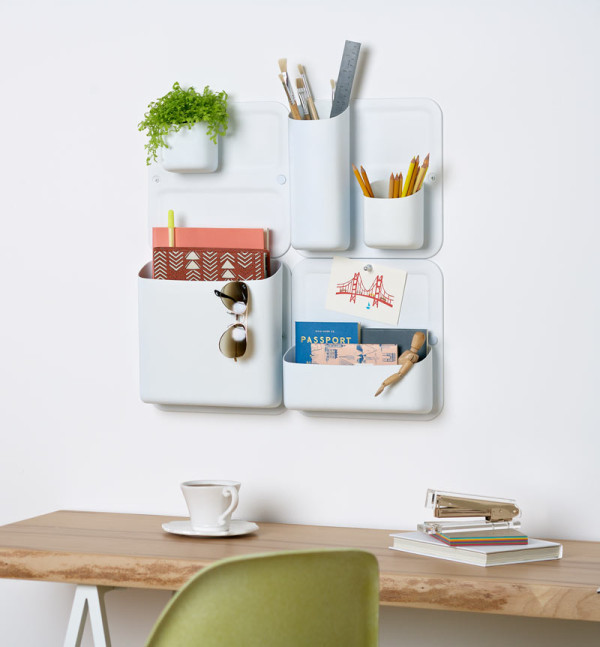 Perch From Urbio Modular Magnetic Wall System Design Milk
