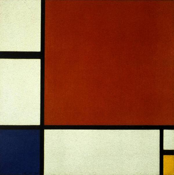 Piet Mondriaan_Composition II