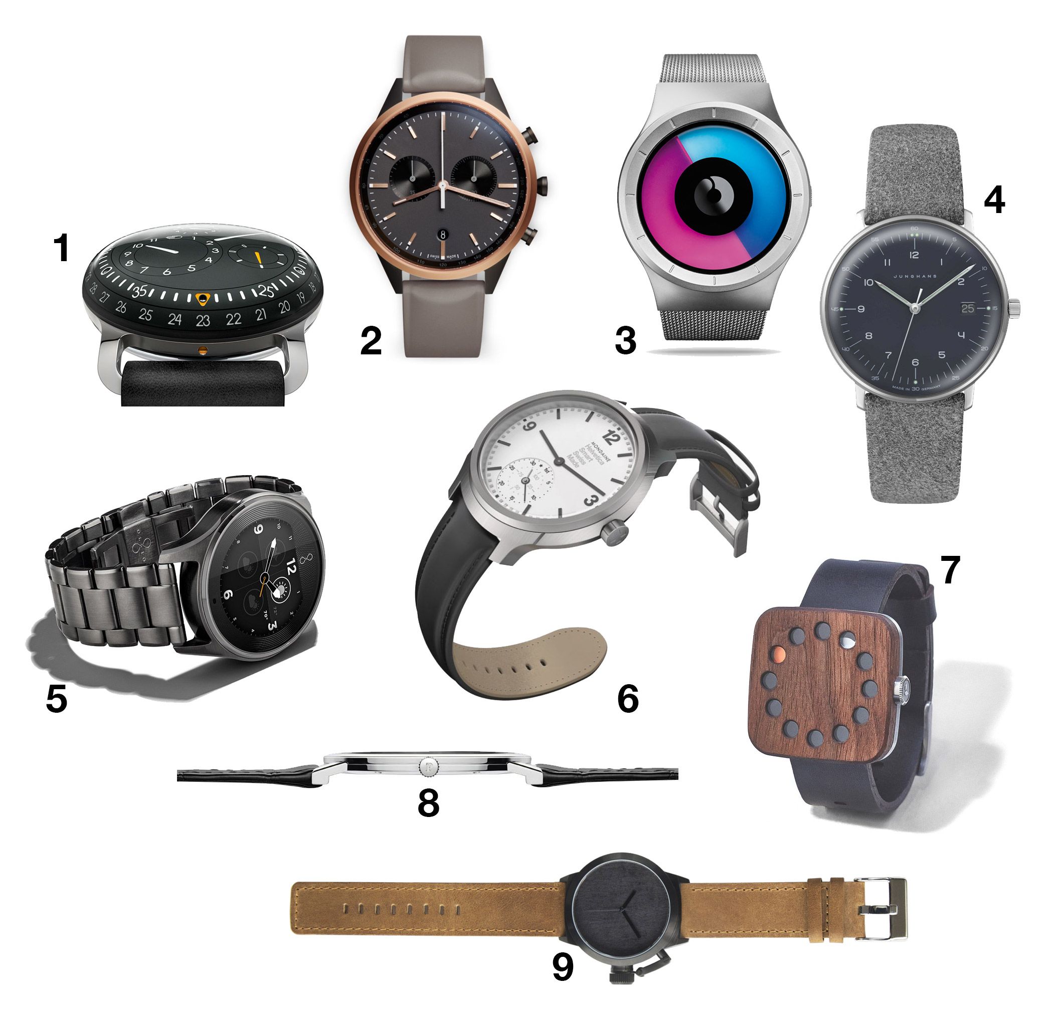 Watch Out: 9 Statement Timepieces for 2015