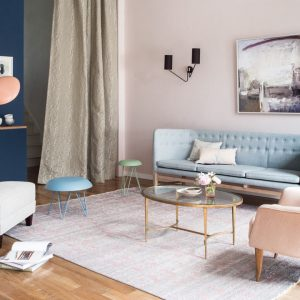 10 Modern Rooms with Pastel Accents