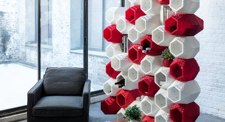 SuperMod: 3D Printed Modular Wall Storage