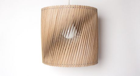 Lamps Made from Leftover Birch Plywood
