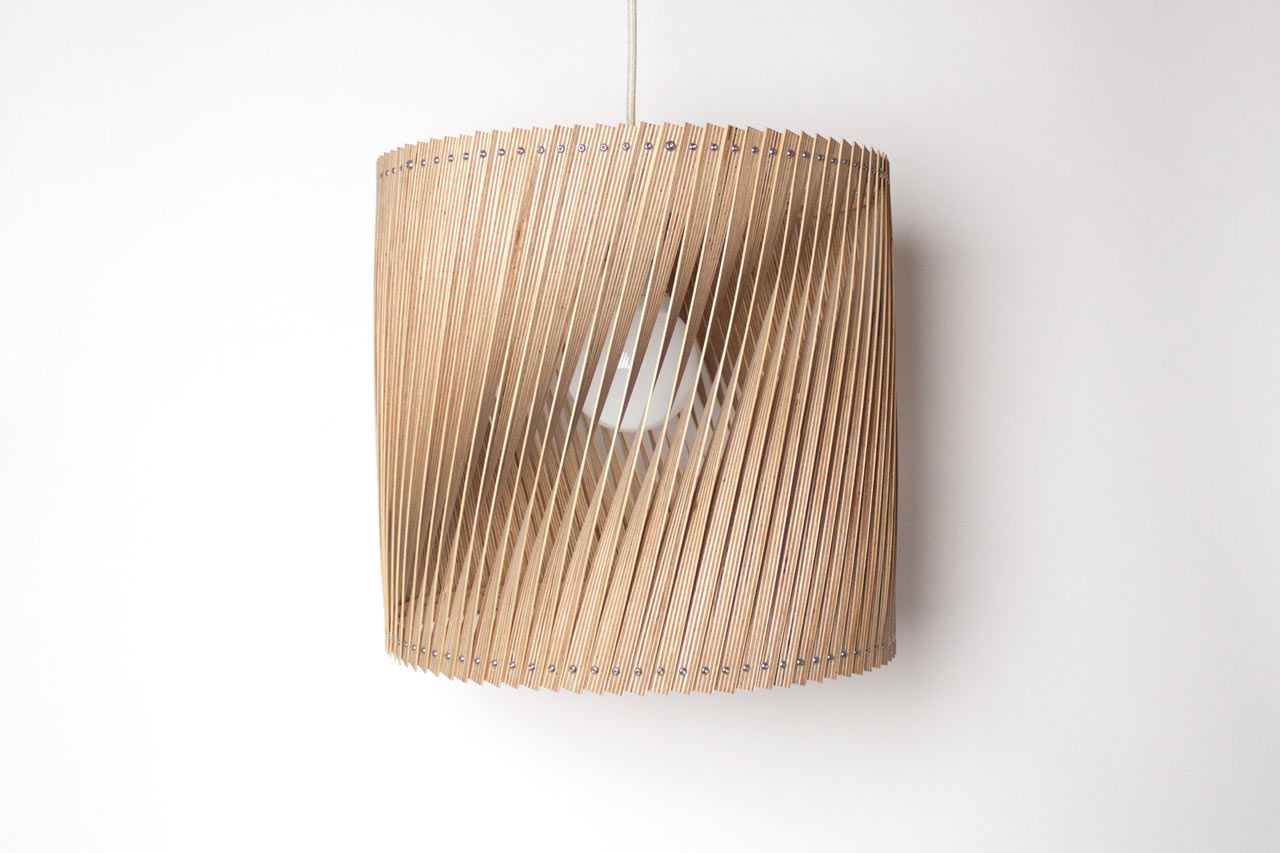 plywood lighting. Lamps Made From Leftover Birch Plywood Lighting P