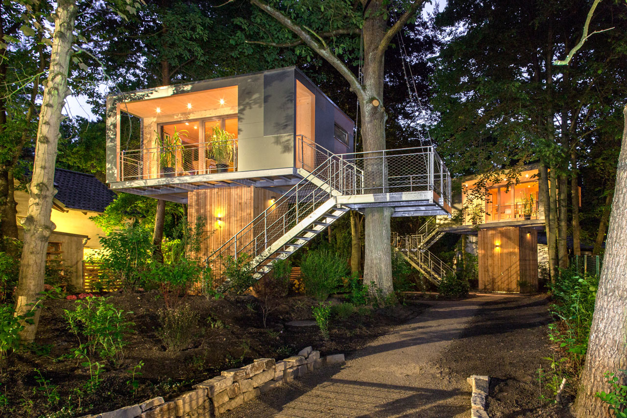 The Urban Treehouse: Live Amongst the Trees for a Spell - Design Milk