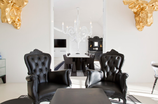 The One Minute Room - A space that people can rent out that's filled with Marcel Wanders' designs.