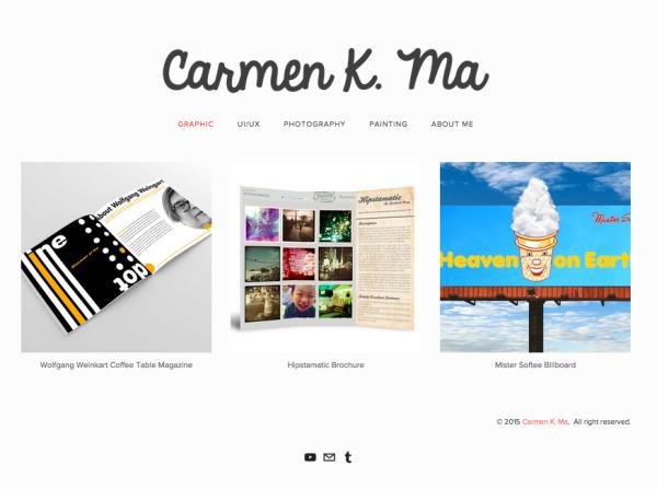 Design by Carmen K. Ma