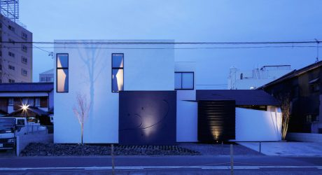 Color House by CUBO Design Architect