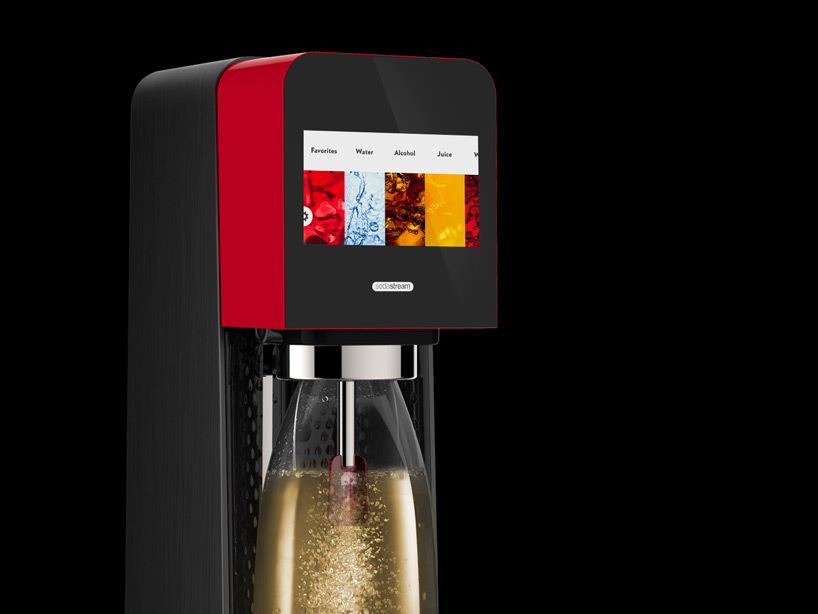 Yves Béhar's Touchscreen Sodastream MIX Is a Mixologist's Dream Machine