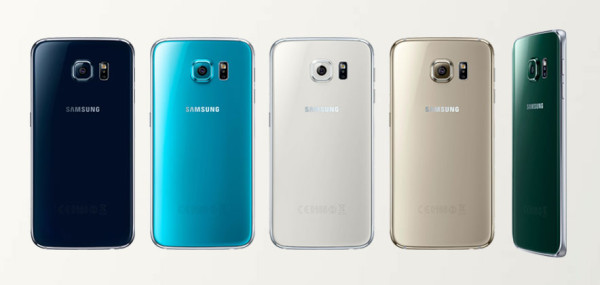 Released in a variety of five color finishes, the Galaxy S6 edge is designed to coordinate with any outfit or personality (note: not all colors are currently available in the US). Image via  SamsungTomorrow