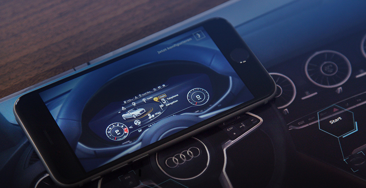 Audi TT Augmented Reality Brochure Brings a Virtual Cockpit to Life