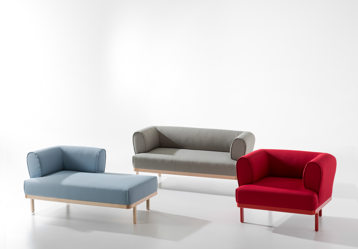 Modular Seating and Table System by edeestudio for B&V