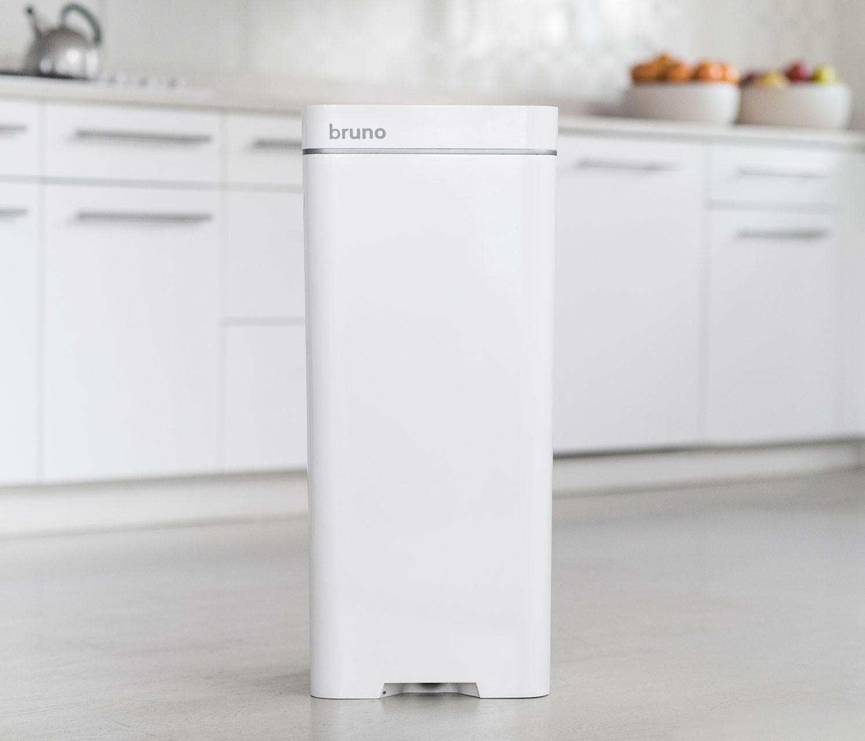 bruno is the world's first smart trashcan - design milk