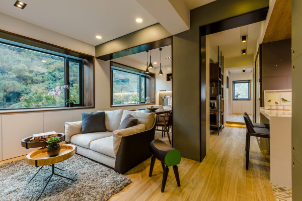 A 40 Year Old Apartment in Taipei Gets a Modern Intervention