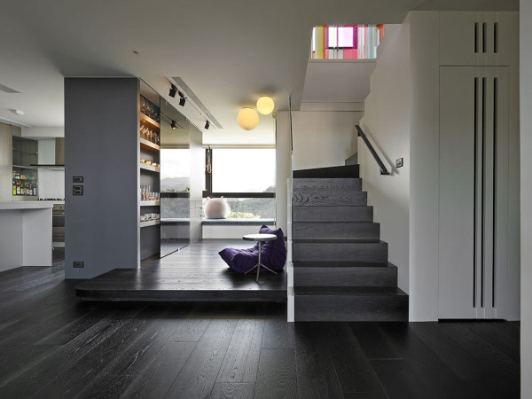 A two story family apartment in taiwan design milk for Two story apartments