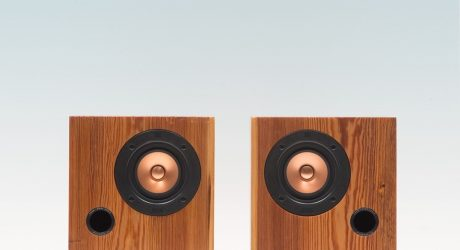 Fern & Roby Cube Speakers Salvage the Past