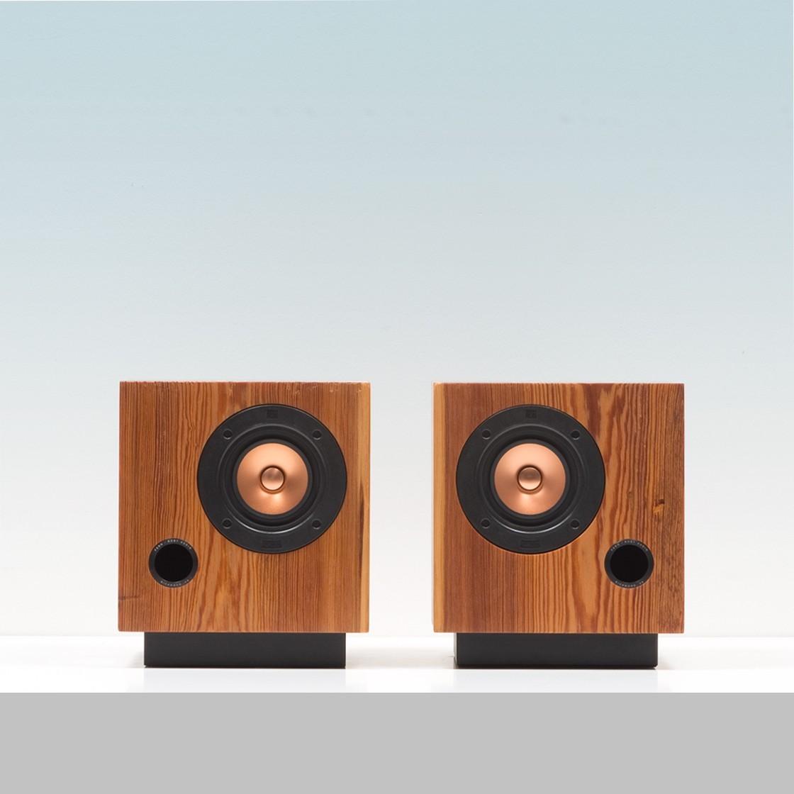 fern & roby cube speakers - design milk