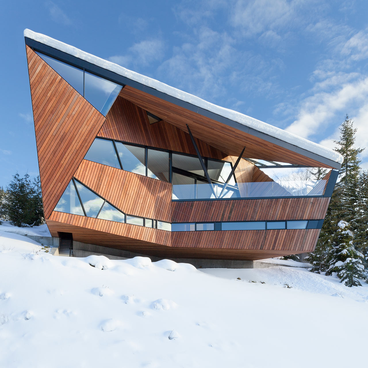 A Geometric Gem on the Slopes of Whistler