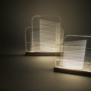 Hide and Seek Lamps by Félicie Eymard