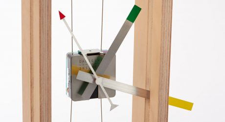 A Clock Inspired by Stringed Instruments