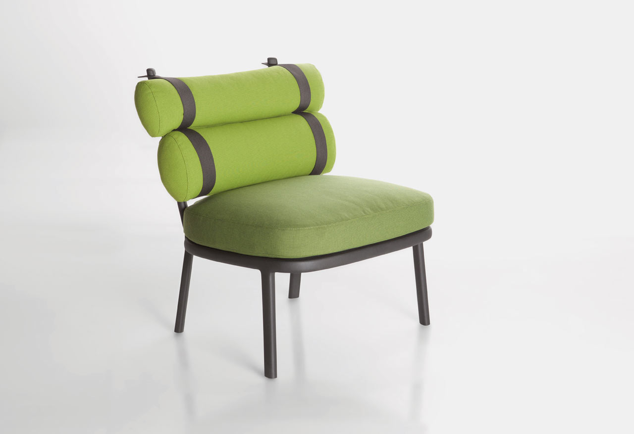 kettal launches the roll chair by patricia urquiola. Black Bedroom Furniture Sets. Home Design Ideas